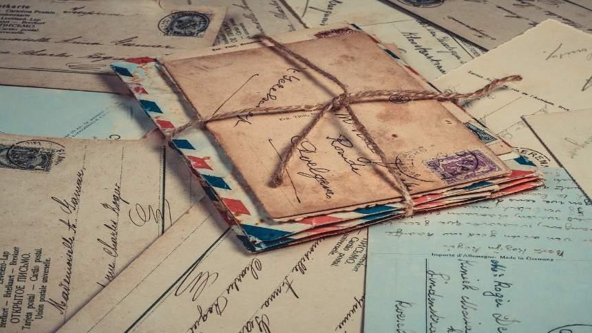 Postcards-letters