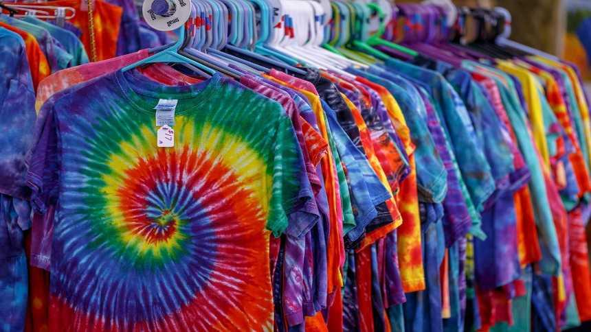 タイダイTシャツTie-dye-t-shirt