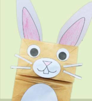 イースターバニークラフトeaster-bunny-craft