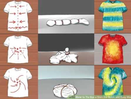 タイダイ染めTシャツたたみ方と柄how-to-fold-for-tie-dye