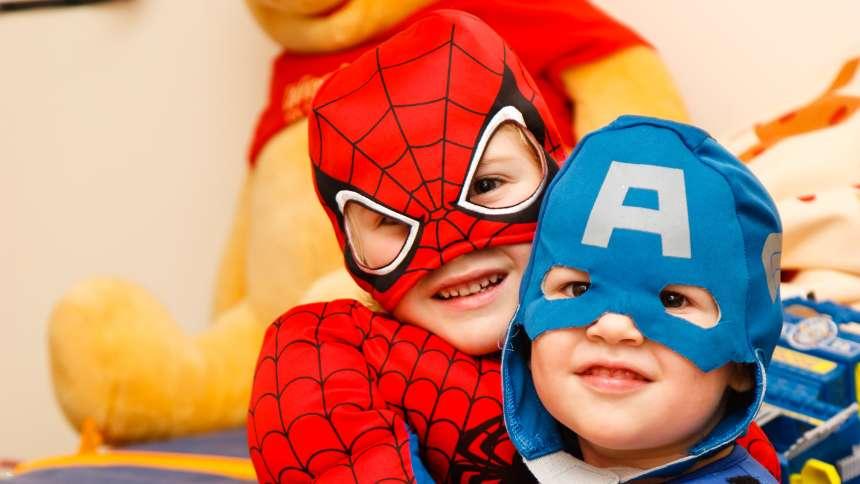 superman-spiderman-kids