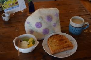 夏の朝ごパン