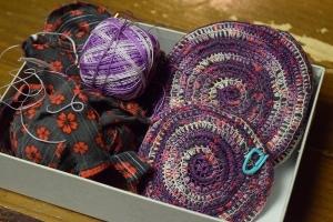 裂き編みこみ