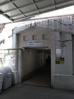 2021_03_30_JR山科駅_地下道_1