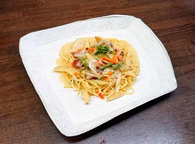 ポテトクリームスパゲッティ