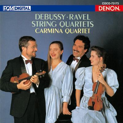 Debussy Ravel_StringQ_CarminaQ