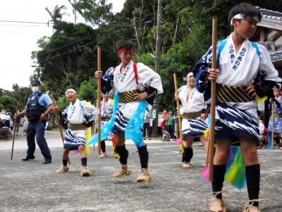 210724-28=2021年ONA祇園まつり棒踊り,育成会 aONA温泉前