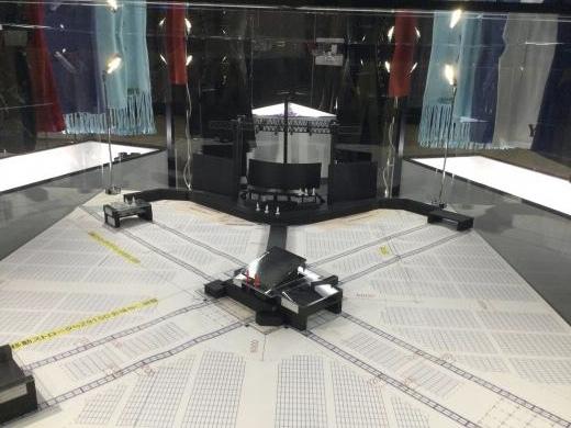 201207 XVsionステージ模型