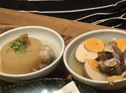 190817大阪夕食おでん
