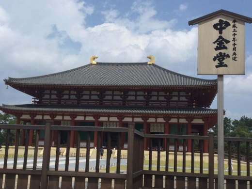190817奈良興福寺中金堂