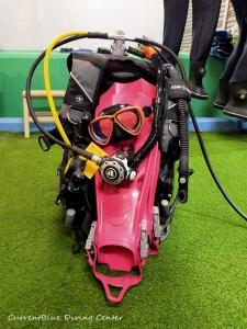 ダイビング器材の使い方,ドライスーツの使い方練習 (5)