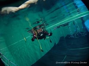 ダイビング器材の使い方,ドライスーツの使い方練習 (8)
