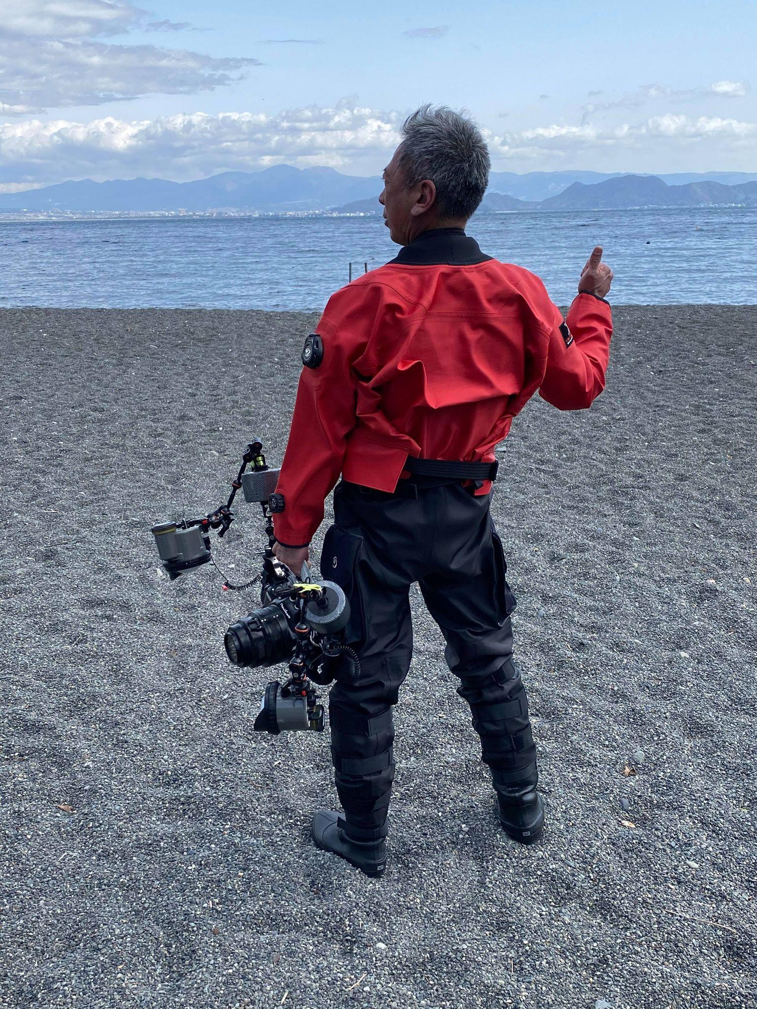 IC9000カメラマン,シェルドライスーツ,ワールドダイブ (1)