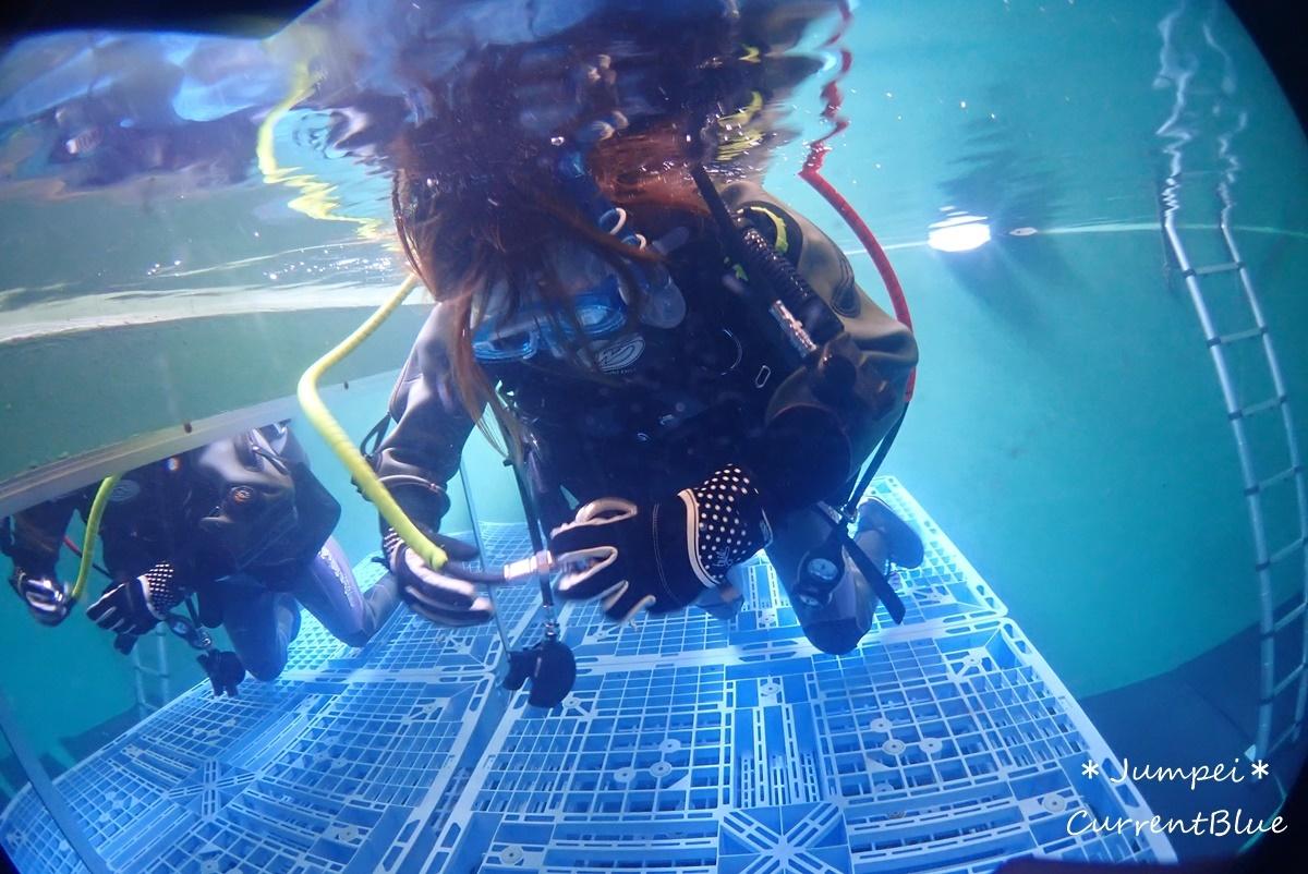 ダイビングプールでリフレッシュコース (3)