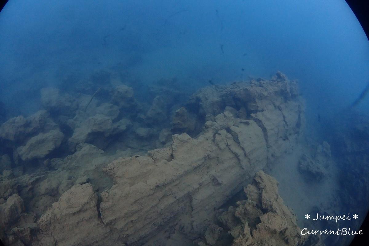本栖湖溶岩ダイブ (1)