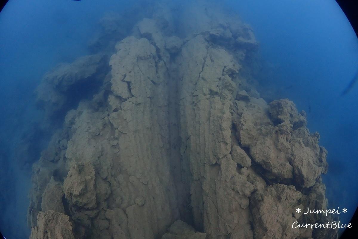 本栖湖溶岩ダイブ (3)