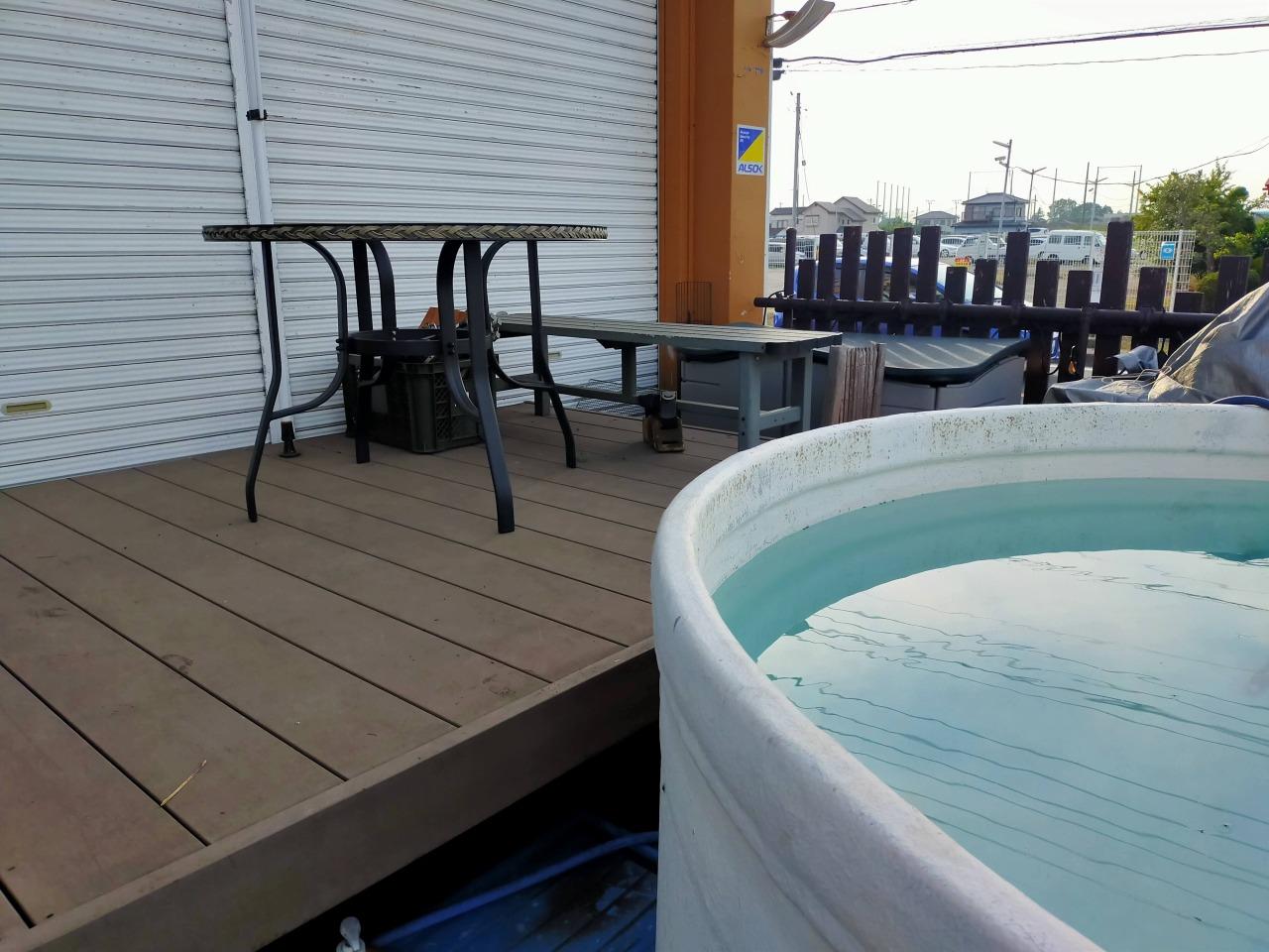 白井安全ダイビング,プールでダイビング (3)