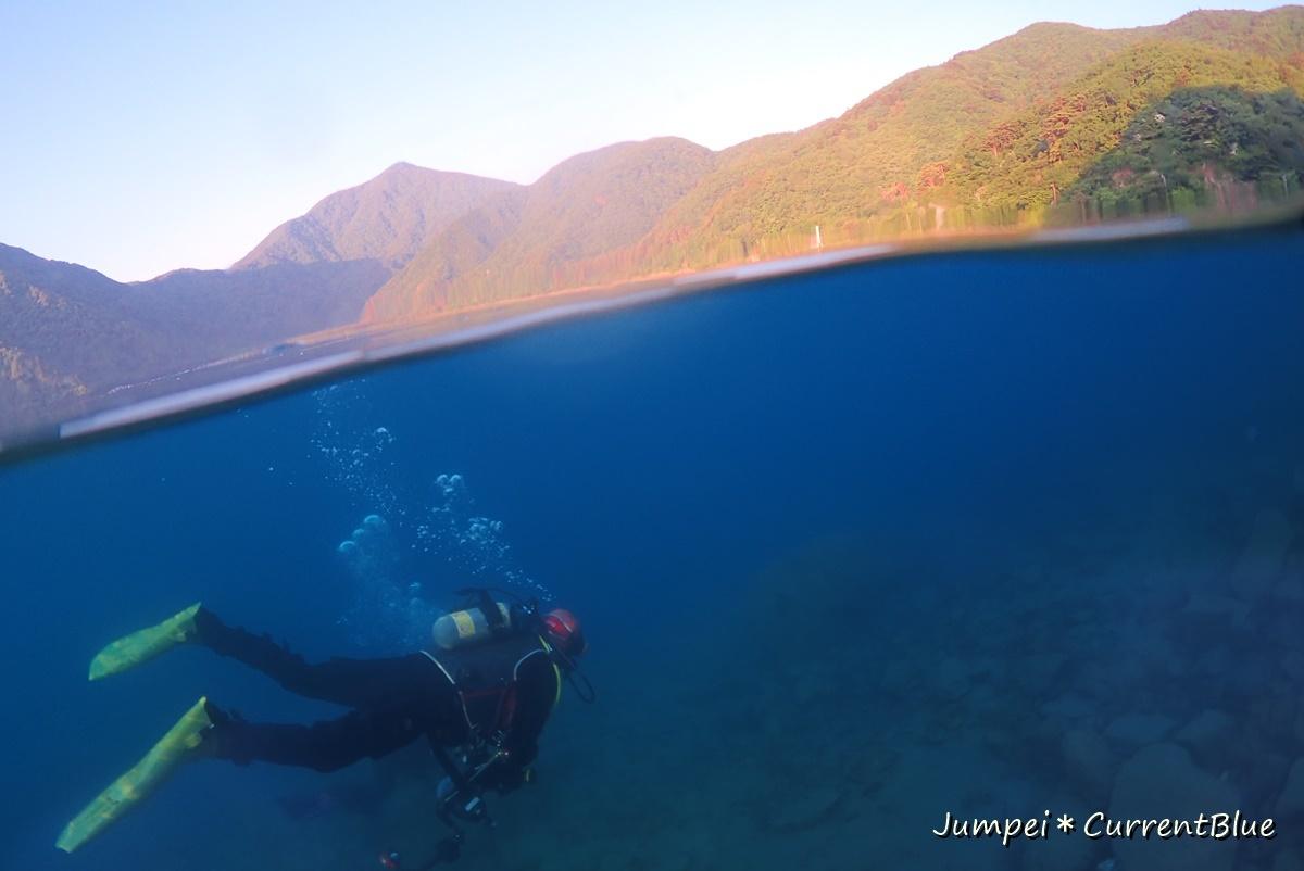 2本栖湖ダイビング (9)
