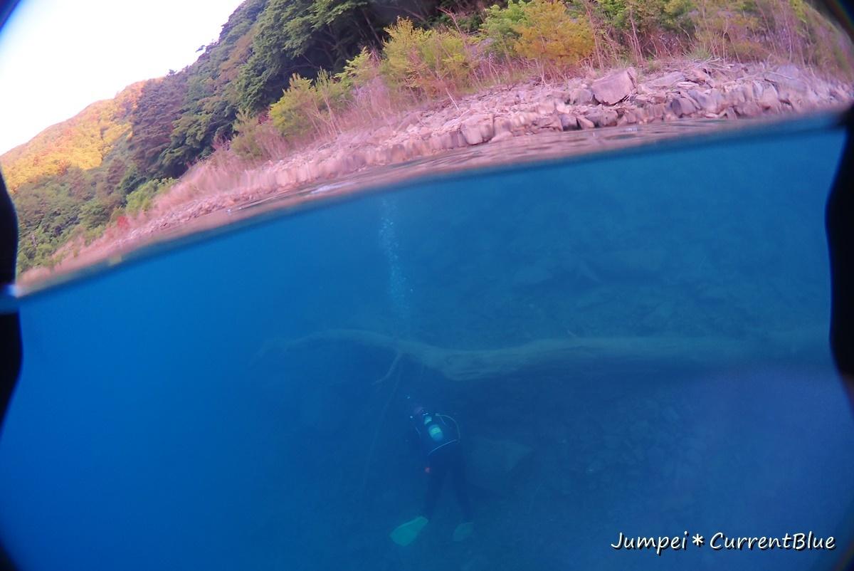 2本栖湖ダイビング (14)