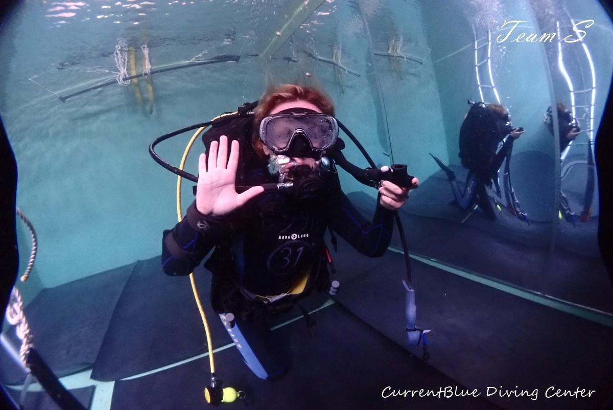 体験ダイビングプール (1)