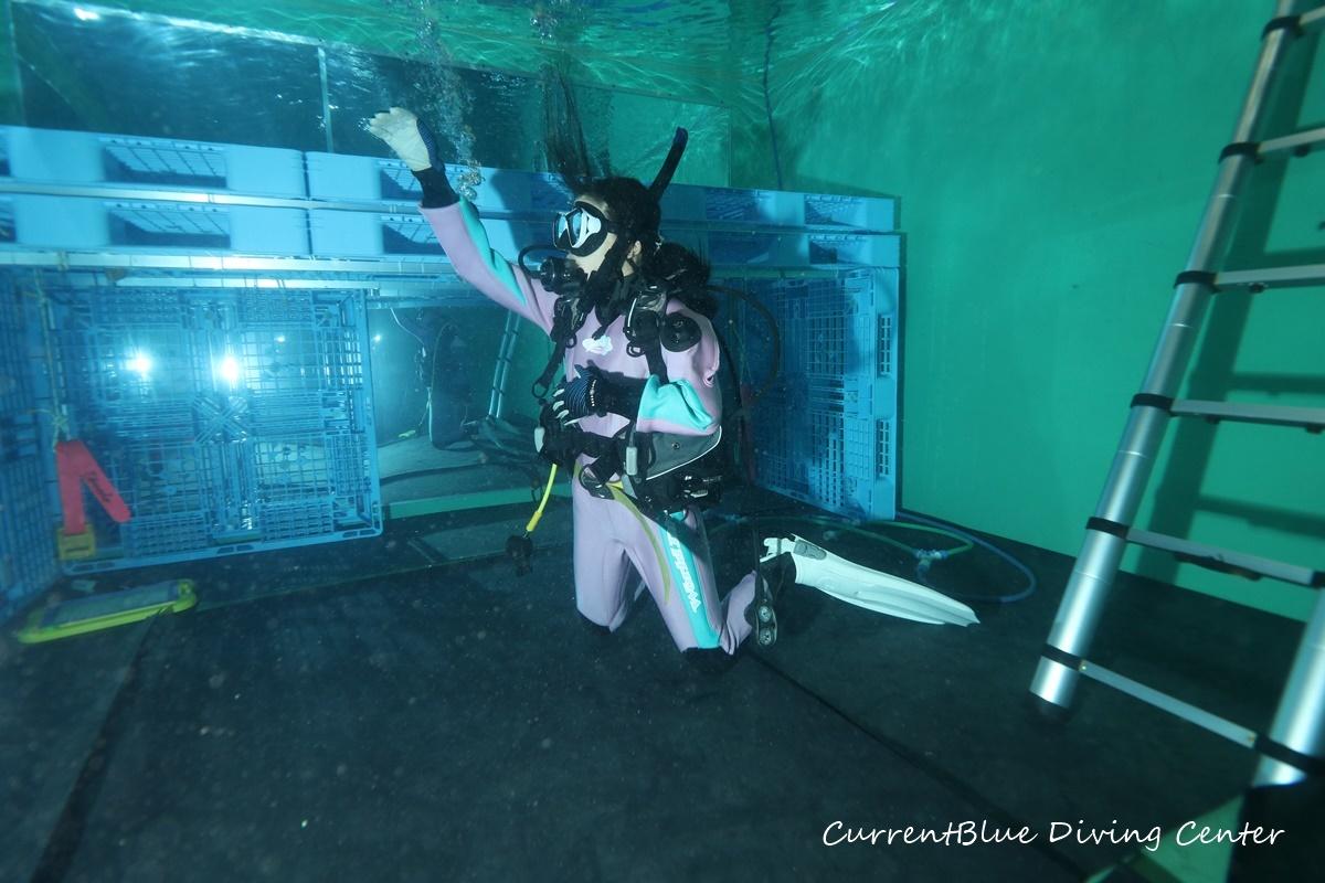 ダイビング器材練習プール練習白井印西千葉 (3)