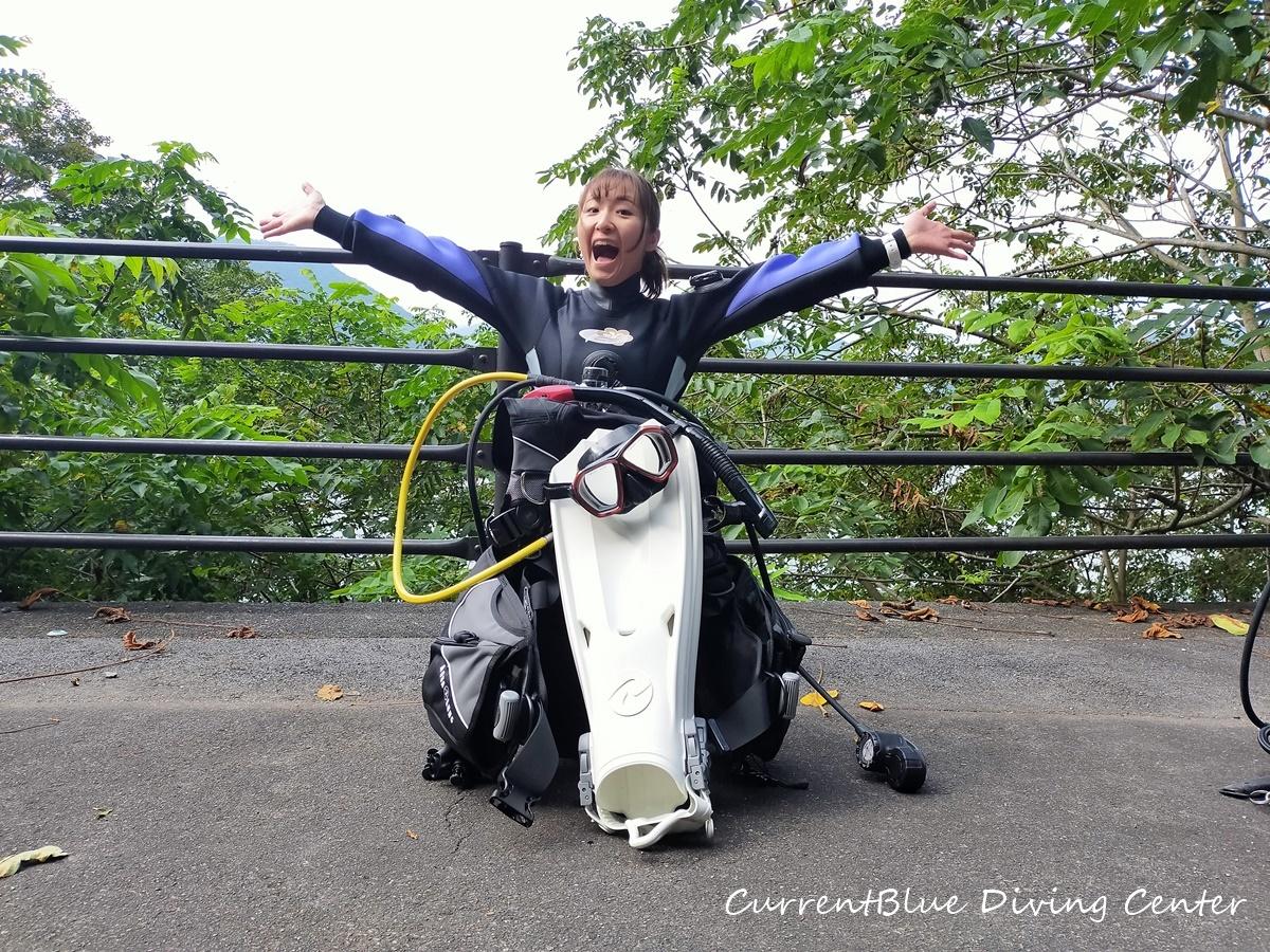 2ダイビング器材,本栖湖ダイビング (5)