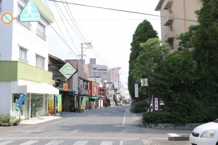 温泉街(2)