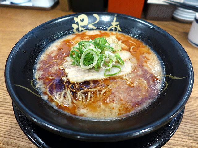 ラーメン食堂 ろくの家 大阪和泉店@01肉六黒らーめん 1