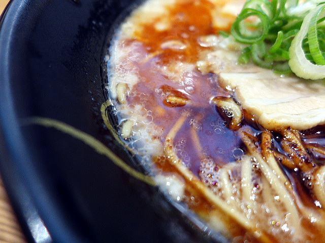ラーメン食堂 ろくの家 大阪和泉店@01肉六黒らーめん 2