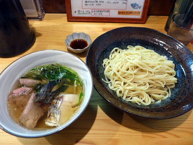彩哲@04サワラの塩つけ麺 1