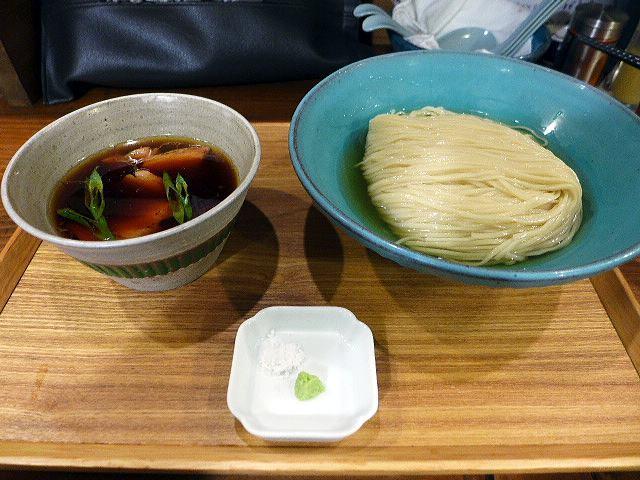 いかれたNOODLE Fishtons@03淡麗昆布水つけ麺 1