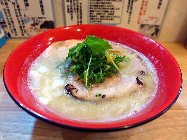 麺匠 輪@01鶏白湯ラーメン 塩 1