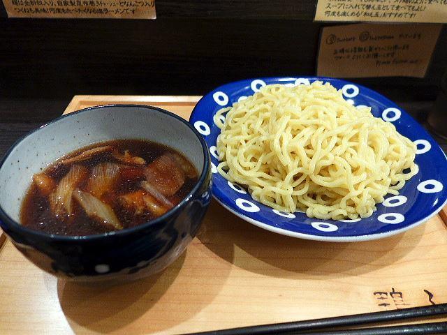 鴨ふじ@01鴨つけ麺 1玉 1