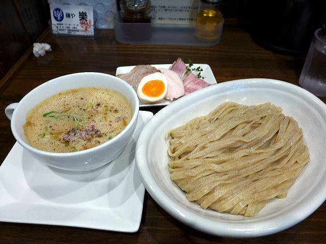 麺や 樂@01つけ麺 1
