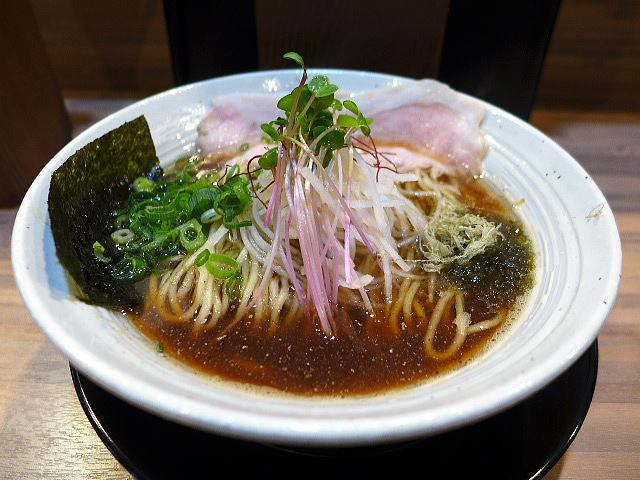 麺屋 LUCK PLUCK@01熟成魚介醤油ラーメン 1