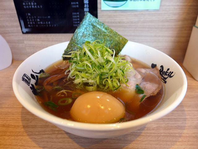 麺屋 丈六 キーノ和歌山店@01秋刀魚醤油 1