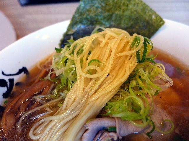 麺屋 丈六 キーノ和歌山店@01秋刀魚醤油 3