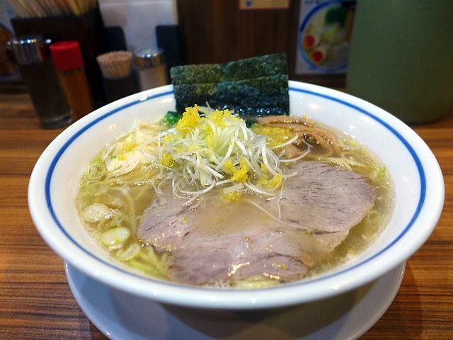 麺屋 楼蘭@02ゆず塩ラーメン 1