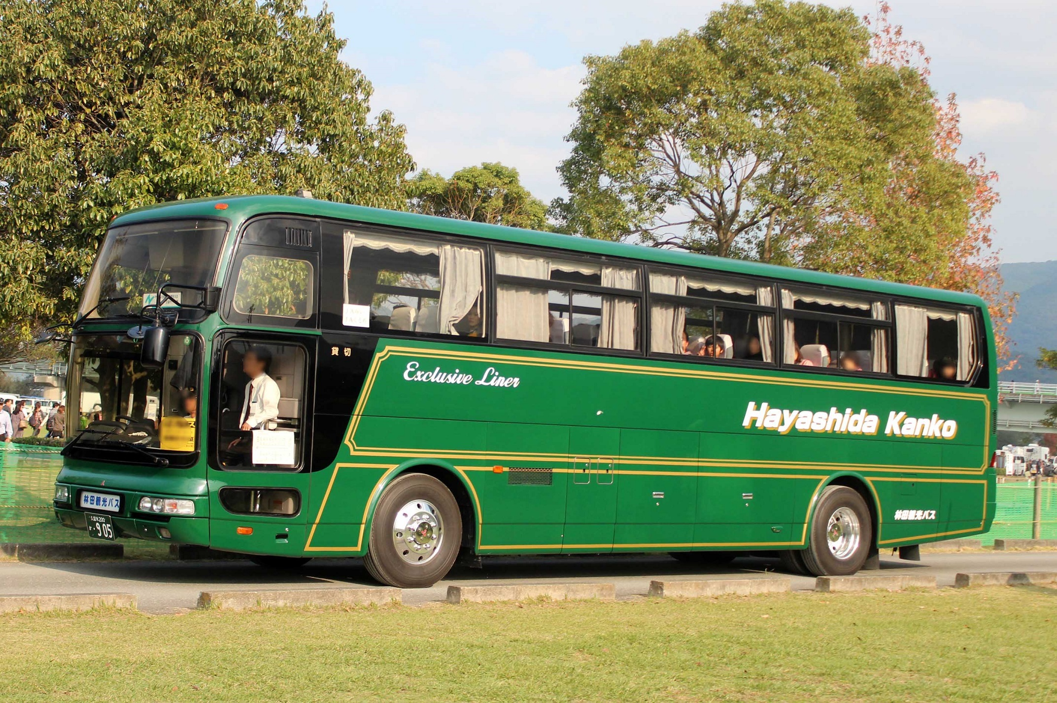 林田観光バス か905