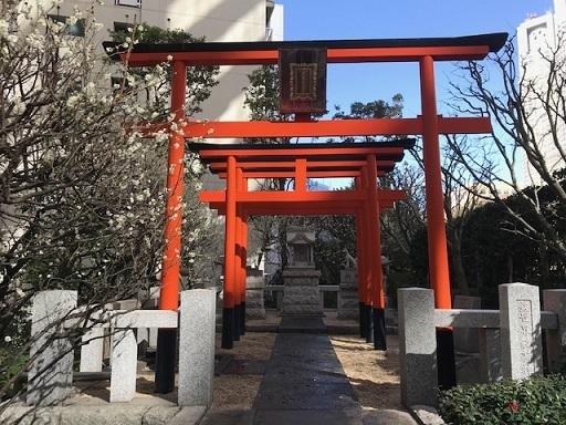 銀世界稲荷神社アップ