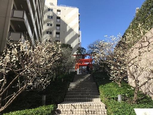 銀世界稲荷神社遠景