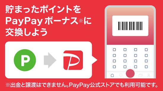 LINEポイント PayPayボーナスに交換