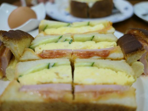 ミックストーストサンド