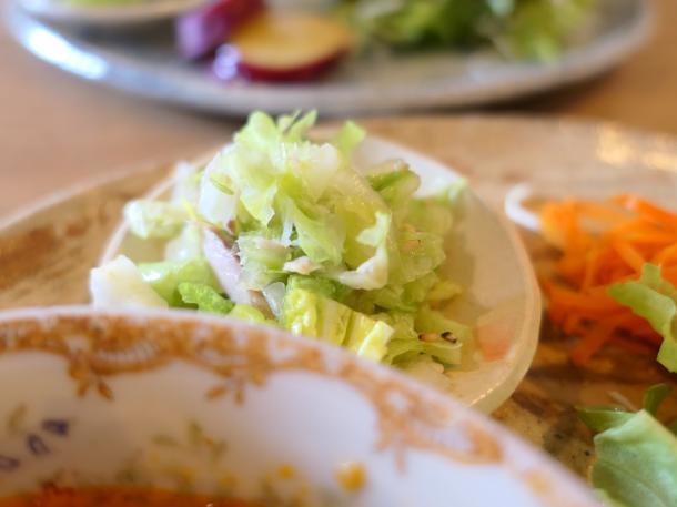 白菜とツナの和え物