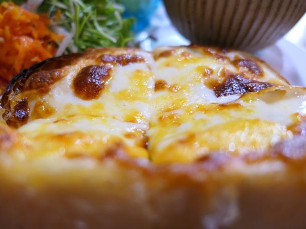 3種のチーズトースト