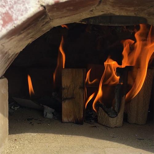 【DIY】畑にピザ窯とコンロを作る!⑦ ~夢のピザ窯が完成しました♪~④