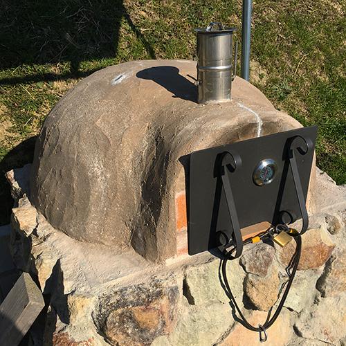 【DIY】畑にピザ窯とコンロを作る!⑦ ~夢のピザ窯が完成しました♪~⑰
