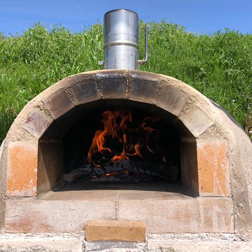 【DIY】畑にピザ窯とコンロを作る!⑧ ~ピザパーティー~①
