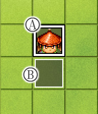 合戦アクション(新・長柄足軽-下向き用)イベント配置