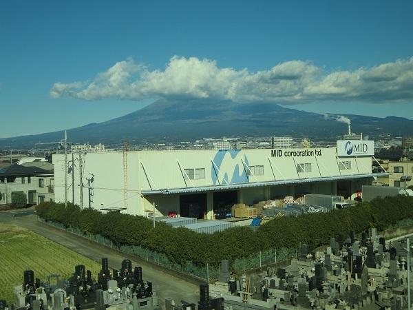 富士山だけど…